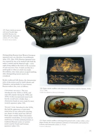 Japanned Papier Mache and Tinware C. 1740 - 1940